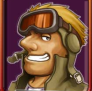 Leo de Metal Slug versión flash.